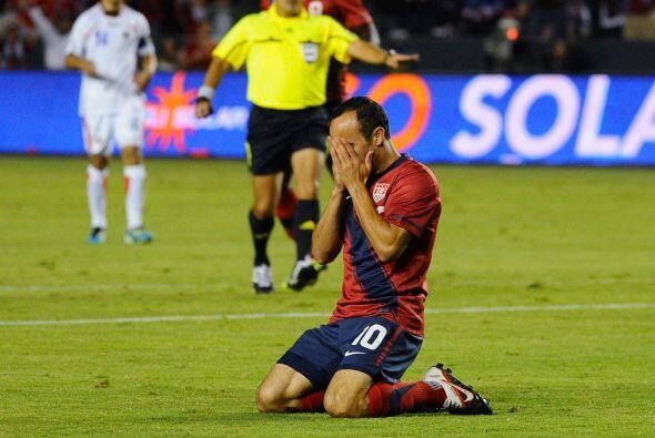 El histórico jugador estadounidense se perdió algunas jugadas de peligro...