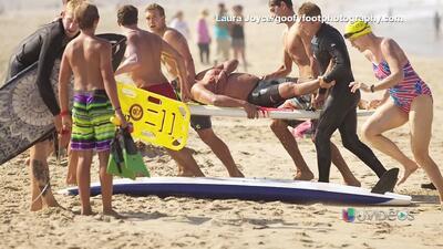 Hombre atacado por tiburón en California cuenta el encuentro de terror
