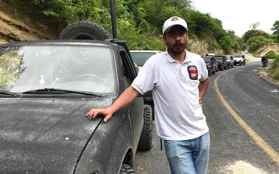 Gustavo Oviedo el día de la jornada que concluiría arrebat...