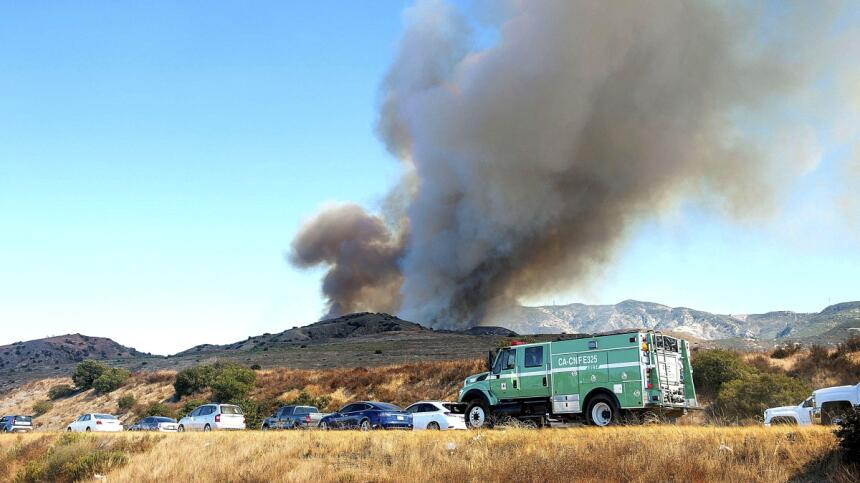 Incendio Canyon Fire