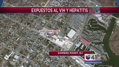 Pacientes en hospital de NJ pudieron haber estado expuestos a VIH y Hepa...
