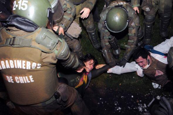 La protesta fue convocada por el movimiento Acción Ecológica, a la que s...