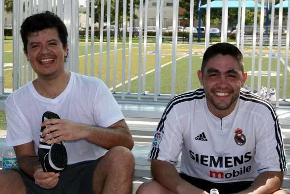 A pesar de la goleada, Univision.com nunca perdió la sonrisa.