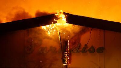 Cómo una pequeña chispa creó el incendio más catastrófico en la historia de EEUU