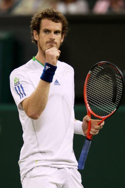 Murray eliminó al croata en cuatro sets por eliminó por 6-4, 4-6, 6-1 y...
