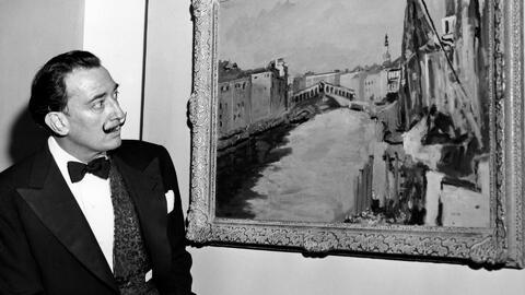 Anuncian exhumación de restos del pintor español Salvador Dalí