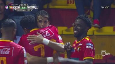 ¡De penal! Ruiz consigue el 1-0 para Herediano