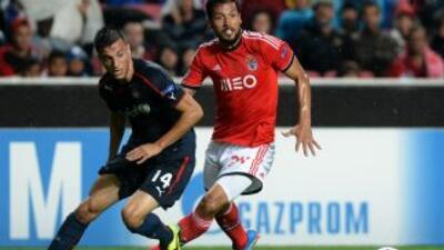 Benfica y Olympiakos empataron en Lisboa.