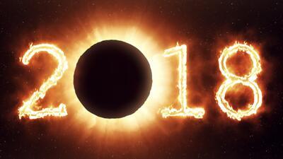 ¡Bienvenido 2018, el año de los cinco eclipses!