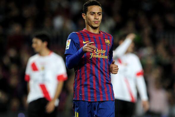 Thiago fue el responsable de poner el tercer gol de los locales.