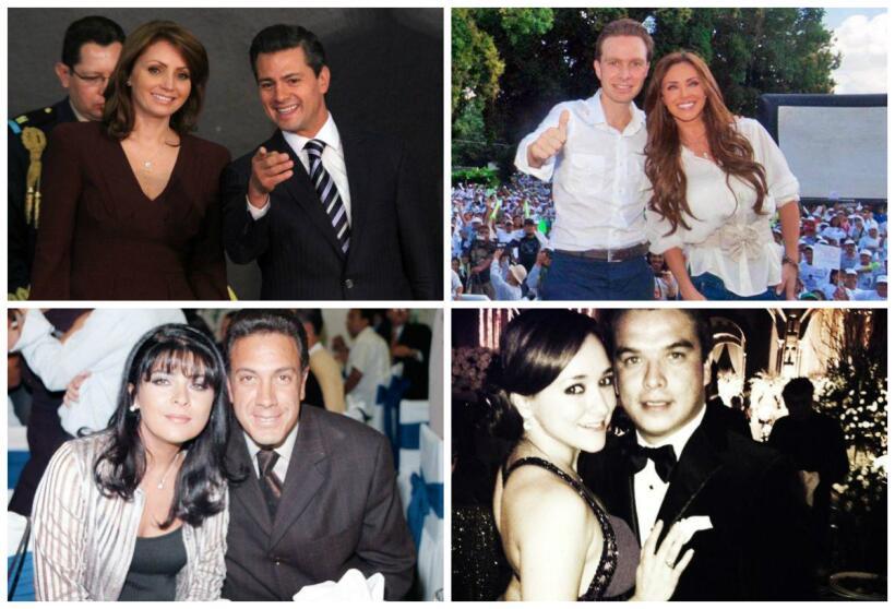 Politicos y actrices