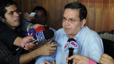 El ex Presidente de Honduras y también ex titular de la Federación de Fú...