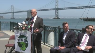 Alcaldes se reúnen para manifestar su apoyo a una medida que aumentaría el peaje en los puentes del Área de la Bahía