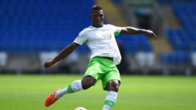 Junior Malanda del Wolfsburgo.