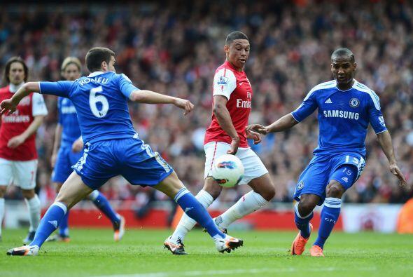 Arsenal recibió la visita del Chelsea en un partido donde ambos conjunto...