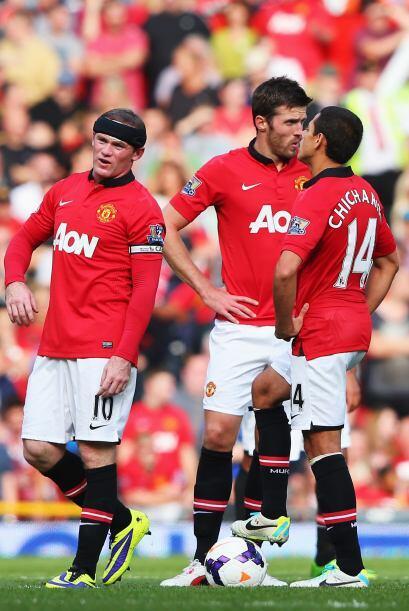 El Manchester United se veía nuevamente en el foso en un partido de esta...