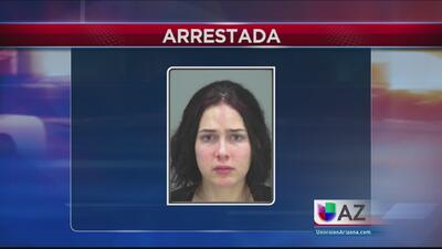 Madre arrestada por negligencia de su hijo de meses