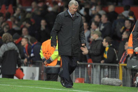 Al final, los goles nunca llegaron y el equipo de Sir Alex Ferguson sali...