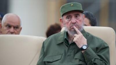El ex presidente cubano Fidel Castro celebra su 85 cumpleaños, el sexto...