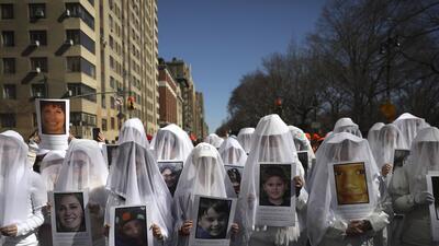 De costa a costa contra las armas: manifestantes de varias ciudades de EEUU tomaron las calles en la #MarchForOurLives