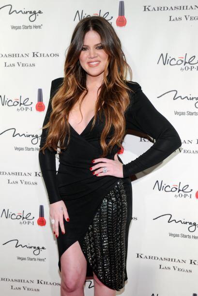 Khloé Kardashian es la menor de las hijas del fallecido abogado Robert K...