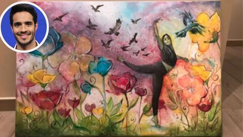 Ektor Rivera subasta esta obra arte, de su autoría, a beneficio d...
