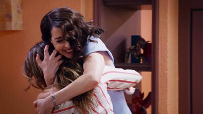 Susana se puso feliz al reencontrarse con Grecia, su mejor amiga