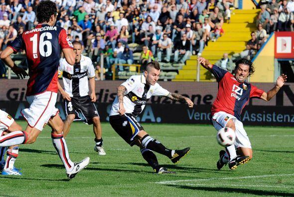Parma recibió en su estadio al Génova.