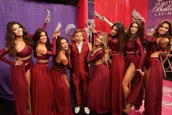 Las 7 reinas coronaron al fabuloso Osmel. ¡Bendito entre tan hermosas mu...