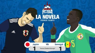 Senegal y Japón igualan en duelo por la supremacía del grupo H