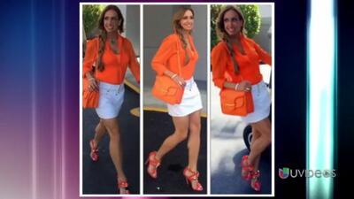 Zapatos 101 con Lili: ¡La Flaca le robó los zapatos de Thalía!