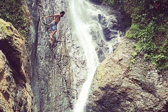 En el pueblo de Maricao se encuentra esta maravillosa cascada con su cha...