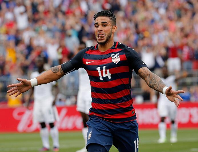 Dom Dwyer confirmó ante Ghana que Team USA tendrá goleador de Oro GettyI...
