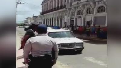 Sin miedo, opositores salen al centro de Cuba a exigir libertad y democracia en la isla