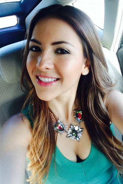 La mexicana tuvo una semana muy especial al haber sido invitada por Jenc...