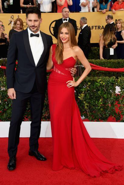 ¡Sofía y Joe fueron los reyes de la alfombra!