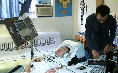 DJ con huesos de cristal hará fiesta en hospital de Los Ángeles en benef...