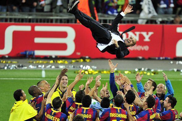 Todos estos cracks son dirigidos por el español Josep Guardiola, el 'Rey...