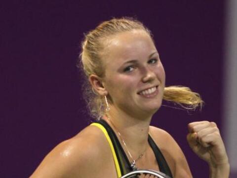 01. Caroline Wozniacki (DIN) 8,035 puntos