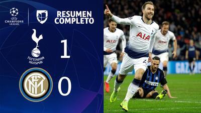 Tottenham 1-0 Inter de Milan - GOL Y RESUMEN - Grupo B - UEFA Champions League