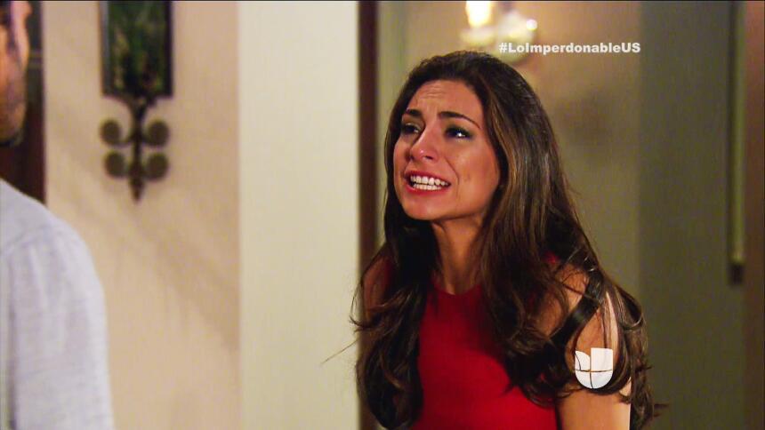 Verónica ya sólo siente odio por Martín