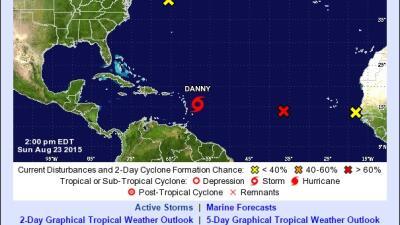 Danny ayudaría a paliar sequía en PR