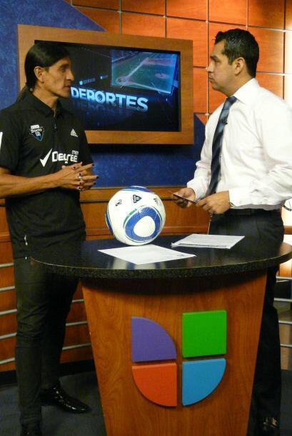 También ha sido convocado por la selección mexicana de fútbol. (Foto cor...