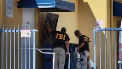 En el registro de la vivienda del sospechoso encontraron un arsenal comp...