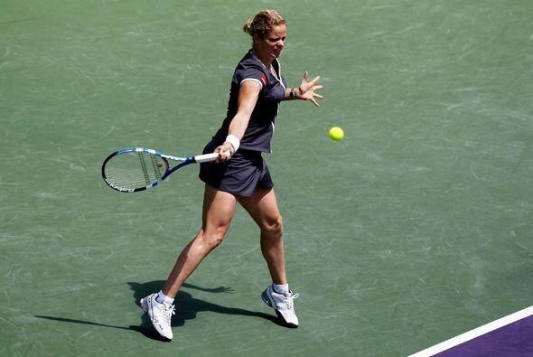 Clijsters aprovechó cada instante para demostrar que su llegada al Top 1...