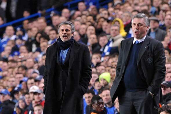 José Mourinho regresó a Stamford Bridge, estadio donde consiguió tantos...