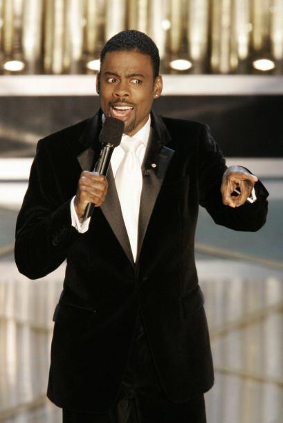 """El buen humor de Chris Rock hizo brillar el escenario del """"scar en el 2005."""