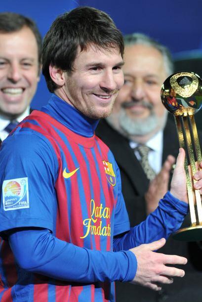 Messi fue el mejor jugador de esta competencia.
