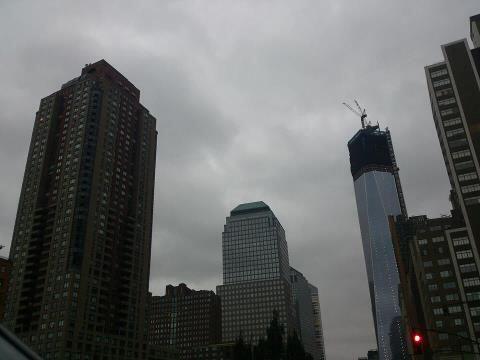 Jose Antonio Velez envio una foto desde el centro de Nueva York