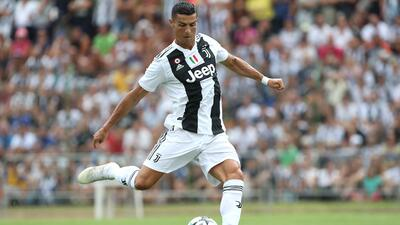 Cristiano debutará en la Serie A con operativo antiterrorista incluido